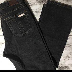 Vintage Calvin Klein black jeans.